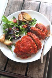 Recipe for Italian Ricotta & Rosemary Meatloaf with Marinara | DeLallo Recipes