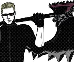 Wesker is ready to execute anyone...