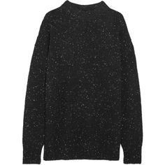 Tibi Boyfriend wool-blend sweater ($445) ❤ liked on Polyvore featuring tops, sweaters, relaxed fit tops, tibi top, wool-blend sweater, tibi and boyfriend sweater