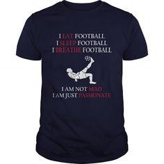 I Love Hobby eat sleep breathe football Tshirt Shirts & Tees