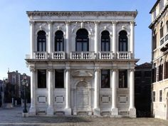 Guided tours at Palazzo Loredan Venice Booking required 041 2407711 Free Admission - 29 Sep 2012 - 8 May 2013 Andrea Palladio, Classic Building, Tour Guide, Palazzo, Italy, Mansions, Architecture, House Styles, Gallery