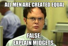 Because Dwight Schrute is awesome.