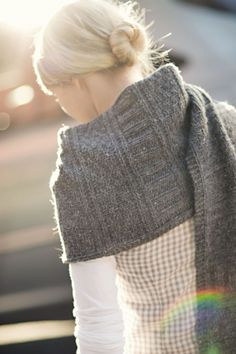 Guernsey Wrap Pattern | Brooklyn Tweed