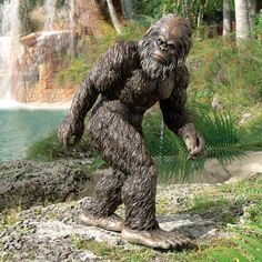 Bigfoot the Garden Yeti Statue by Design Toscano. Save 53 Off!. $149.99. Beautifully hand-painted for startling realism. Intricate detailing captures Bigfoot character. Classic film footage pose. Cast in quality designer resin. Dimensions: 19.5W x 16D x 28.5H inches. DB383049 Features: -Statue.-A unique piece sure to get noticed in your garden.-Design Toscano exclusive.-Great for home or garden gallery.-Hand painted details. Construction: -Quality designer resin construction.