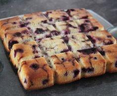 Gâteau rapide aux cerises (recette Tupperware)