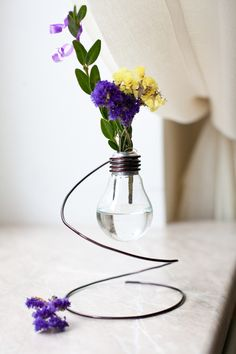 Aufgewertete Glühbirne <3 stylefruits Inspiration <3 #DIY Recycling    Jislaine ♥ to inspire you!