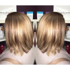 Haircut w/ #Multi dimensional blonde on this beauty with root color 💗 #blondesdoitbetter #modernsalon #americansalon #hairbrained #hairbrained_official #btcpics #btccolor2016 #btconeshot_transformations16 #blondehair #balayage #ombre #highlights #vthairsalon @vthairsalon #hairporn #haircolor #haircut #hair