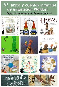 Selección de 20 cuentos y libros infantiles de inspiración: Montessori + Waldorf…