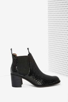 Jeffrey Campbell Soulard Patent Leather Boot