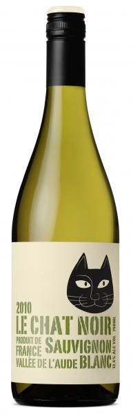 Le Chat Noir Sauvignon Blanc I'm a sucker for cute cats on #packaging : ) PD