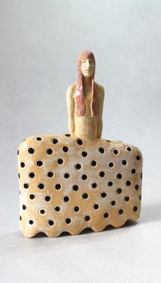 Ceramic Sculpture , Fine Art Ceramic , Art Object , Clay Figure , Handmade Clay Sculpture , Ceramic Art , Ceramic Figurine , Pottery by ImagoArtDesign