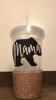 Personalized glitter dipped mug custom coffee mug personalized this is perfect for moms on the go and who doesnt love glitter negle Gallery