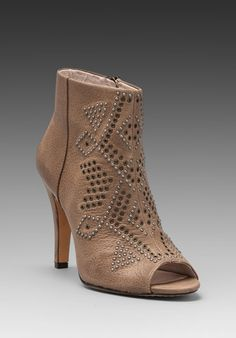 VINCE CAMUTO Kanster Bootie in Smoke Taupe - Booties $179