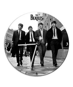 Another great find on #zulily! The Beatles Cordless Wall Clock #zulilyfinds