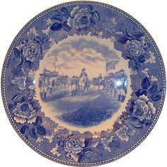 Wedgwood Washington Bicentennial Plate Surrender Of Cornwallis At Yorktown