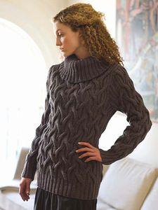 Начинаю сама и приглашаю вас вязать вот этот свитер от Berocco. Вот ссылка на этот свитер на сайте, где он и придуман http://www.berroco.com/ng3/ng3_chisel_pv.html Вот из какой пряжи связан оригинал …