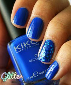 Kiko Electric Blue   Glitter