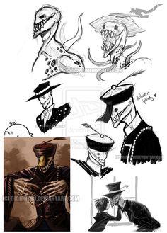 Splendorman doodles sketchdump by Digimitsu.deviantart.com