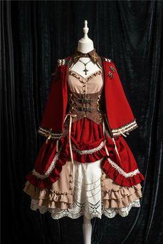 Pretty Outfits, Pretty Dresses, Beautiful Dresses, Cosplay Dress, Cosplay Outfits, Old Fashion Dresses, Fashion Outfits, Mode Lolita, Lolita Style