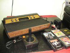 Atari Sears Telegames , Americano Frente De Madeira , Stereo - $349.00