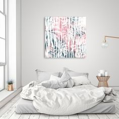Discover «Abstract animal and palm», Numbered Edition Aluminum Print by mmartabc - From 55€ - Curioos