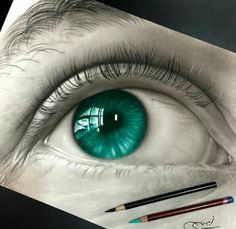 Pencil Drawing Techniques Mesmerizing Pencil Drawing Works by Ayman Fahmy Amazing Drawings, Realistic Drawings, Amazing Art, Photo Oeil, Pencil Drawings, Art Drawings, Art Watercolor, Color Pencil Art, Art Graphique