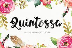 Quintessa Typeface by Area Type Studio on @creativemarket