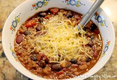 My nephew's championship chili recipe! A crowd-pleaser! :-)