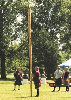 McPherson Scottish Festival & Highland Games. I know some throwers at this one!
