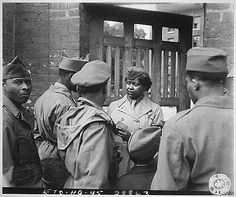Pvt. Ruth L. James, 1945.