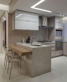 50 ideias de azulejo para cozinha para um ambiente fantástico in 2020 Modern Farmhouse Kitchens, Farmhouse Style Kitchen, Home Decor Kitchen, Kitchen Furniture, Interior Design Living Room, Kitchen Ideas, Farmhouse Sinks, Rustic Kitchen, Design Moderne
