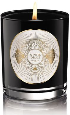 Guerlain Winter Délice Candle, Size One Size - None Scented Candles, Candle Jars, Candle Holders, Home Scents, Home Fragrances, Glamour, Main Image, Light Em Up, Jar Design