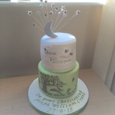 Guess How Much I Love You christening cake Christening Cakes, Love You, My Love, Shower Ideas, Baby Shower, Birthday, Desserts, Food, Baptism Cakes