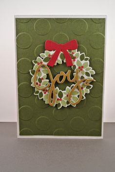 Wondrouw Wreath Stampin Up by Cards and Scrapping
