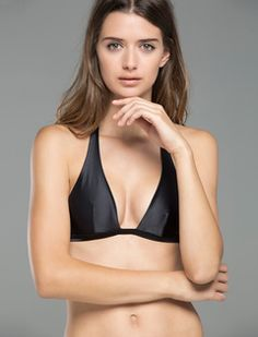 Satin triangle bra Women'secret