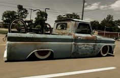 A Rough, Custom Built And Bagged 1965 Chevy C10 Pickup - Rod Authority