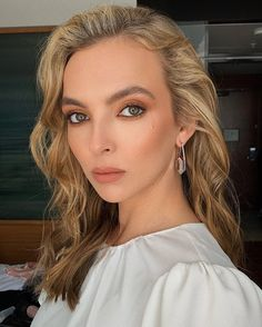 Beautiful Person, Beautiful People, Hair Inspiration, Hair Inspo, Jodie Comer, Hair Color And Cut, Female Stars, British Actresses, Photography Women