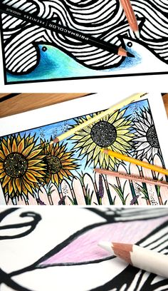 Color adult coloring pages like a pro using Prismacolor pencils with these easy blending tips: 1. Use indigo underneath for shadows and depth. 2. Use a lighter or brighter shade on top to blend a few shades. 3. Layer a few light shades and blend with white for a light, fluffy effect.  Find @pinprismacolor pencils and markers at @michaelsstores - be sure to check out @michaelsstores coupons for additional savings, in newspapers and online! #relaxandcolor #ColoringwithMichaels #PMedia #ad