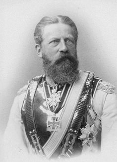 Fritz, Queen Victoria's soninlaw, Vicky's husband, and the father of Kaiser Wilhelm III