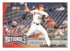 2010 Topps Update #183 Luis Atilano RC - Washington Nationals (RC - Rookie Card) (Baseball Cards) by Topps Update. $0.88. 2010 Topps Update #183 Luis Atilano RC - Washington Nationals (RC - Rookie Card) (Baseball Cards)