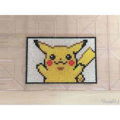 Pikachu perler beads by hannah