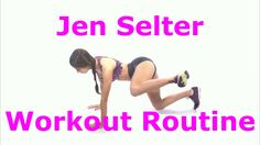 Jen Selter Workout Routine For Jen's Butt Videos [] jen selter workout [] - YouTube