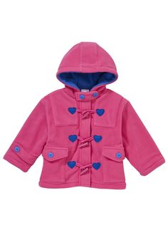 Zip Zap Toggle hooded coat