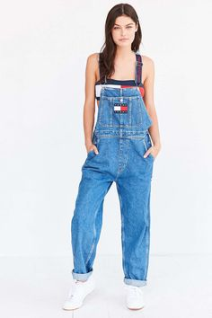 Tommy Jeans For UO '90s Dungaree Overall