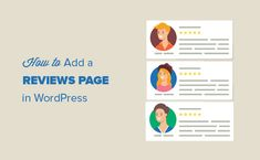 Do you want to add a reviews page on your WordPress site? Learn how to easily create a customer reviews page in WordPress.