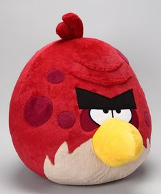 Take a look at this Jumbo Big Brother Sounds Plush Toy by Angry Birds on #zulily today!