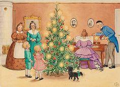 ELSA BESKOW, Petters och Lottas första julafton hemma hos Tanterna.. - Höstens Klassiska Auktion, Stockholm 571 – Bukowskis