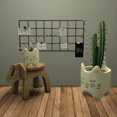 Cat Planter at Leo Sims • Sims 4 Updates