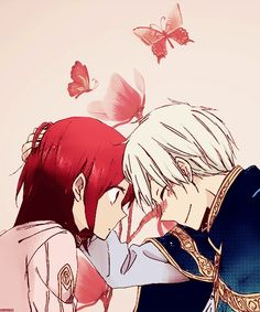Akagami no Shirayuki-hime - Snow White with the Red Hair - Shirayuki and Zen