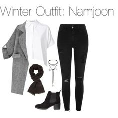 Winter Outfit: Namjoon
